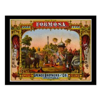 Formosa chewing tobacco postcard