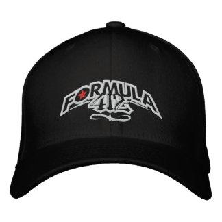Formula412 - Rocker Logo Cap - BLK Embroidered Hats