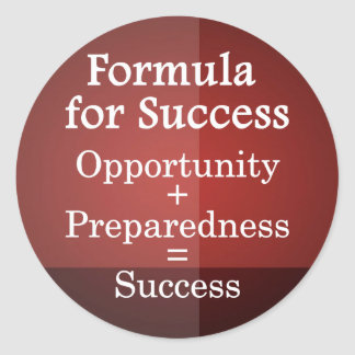 Formula for Success Stickers