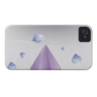 Formula, graph, math symbols 8 iPhone 4 case
