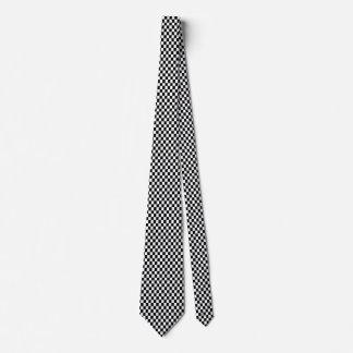 formula one,Checkered Pattern Tie