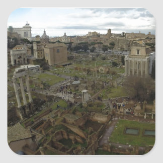 fororomano.JPG Square Sticker