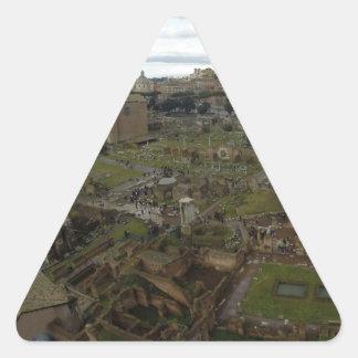 fororomano.JPG Triangle Sticker