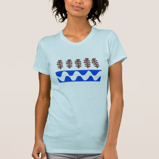 Forrest and River Abstract T-Shirt