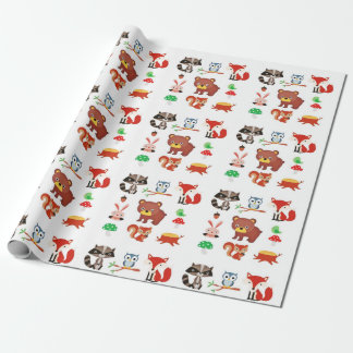 Forrest Friends Wrapping Paper