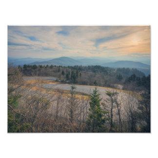 Forrest Gump Curve Photo Print