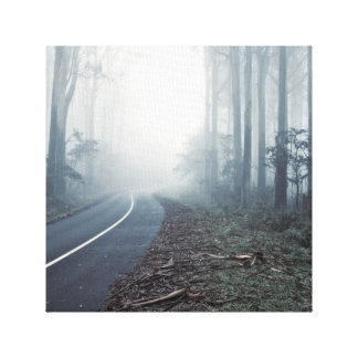 Forrest, nature scene canvas print