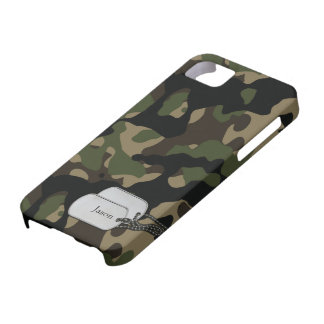 Forrest Trees and Foliage Military Camouflage Case For The iPhone 5