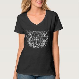 Forsaken Deco Womans V-Neck T-Shirt