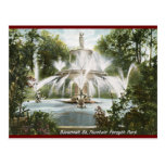 Forsyth Park, Savannah 1906 Vintage Postcards