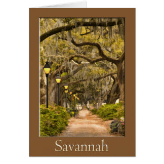 Forsyth Park - Savannah, GA Card