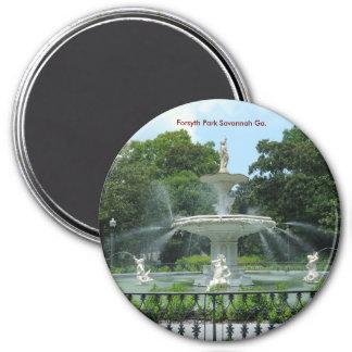 Forsyth Park Savannah Ga. Magnet