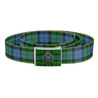 Forsyth Tartan And Celtic Trinity Knot Belt
