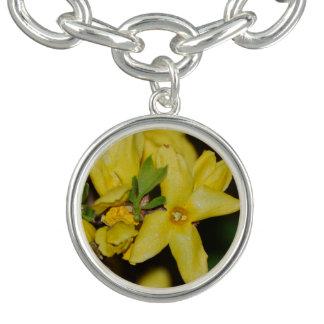 Forsythia Charm Bracelet