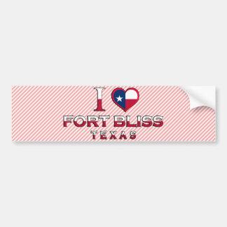 Fort Bliss, Texas Bumper Sticker