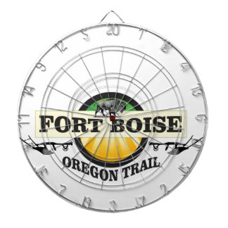 fort boise OT art Dartboard