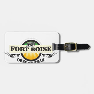 fort boise OT art Luggage Tag