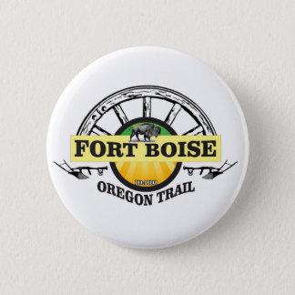 fort boise yellow marker 2 inch round button