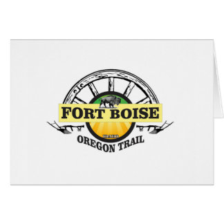 fort boise yellow marker card