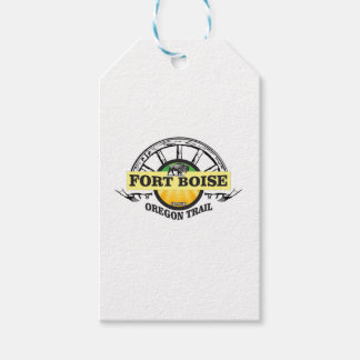 fort boise yellow marker gift tags