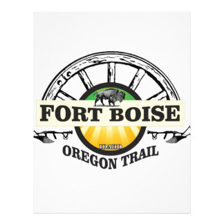 fort boise yellow marker letterhead