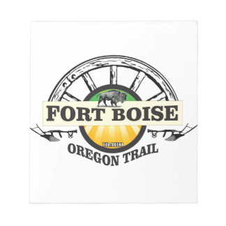 fort boise yellow marker notepad