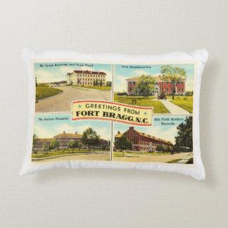 Fort Bragg # 2 North Carolina NC Vintage Souvenir- Accent Pillow