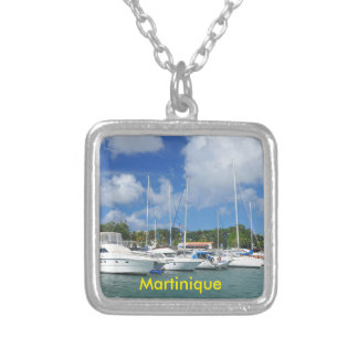 Fort-de-France, Martinique Silver Plated Necklace