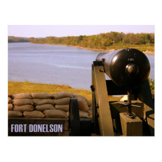 Fort Donelson National Battlefield Canon Postcard