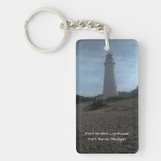 Fort Gratiot Lighthouse Keychain