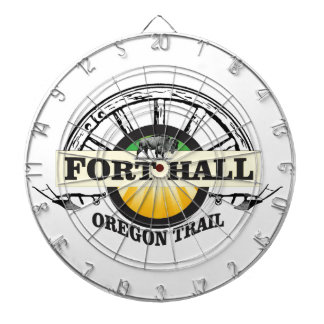 fort hall color dartboard