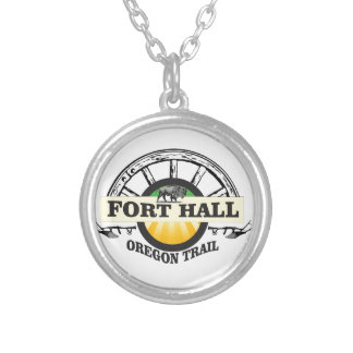 fort hall color silver plated necklace