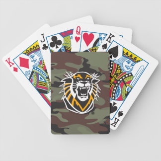 Fort Hays State | Camo Bicycle Playing Cards