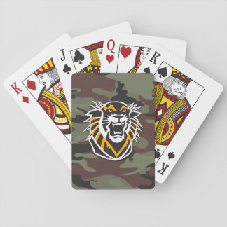 Fort Hays State | Camo Playing Cards