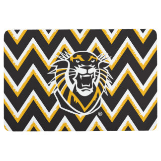 Fort Hays State | Chevron Pattern Floor Mat