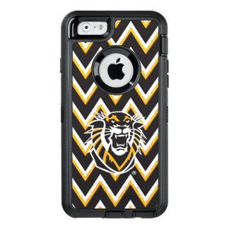 Fort Hays State | Chevron Pattern OtterBox Defender iPhone Case