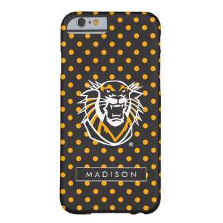 Fort Hays State | Polka Dot Pattern Barely There iPhone 6 Case