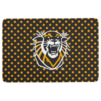 Fort Hays State | Polka Dot Pattern Floor Mat