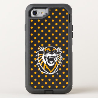 Fort Hays State | Polka Dot Pattern OtterBox Defender iPhone 8/7 Case