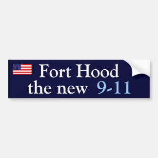 Fort Hood Bumper Sticker