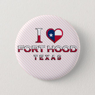 Fort Hood, Texas 2 Inch Round Button