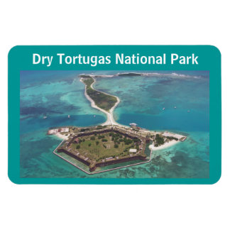 Fort Jefferson Dry Tortugas National Park Rectangular Photo Magnet