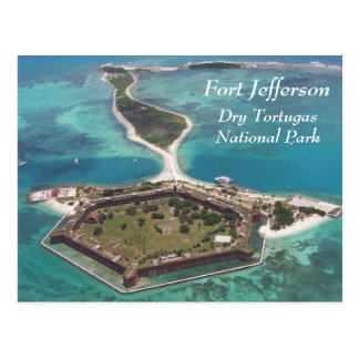 Fort Jefferson Dry Tortugas Postcard