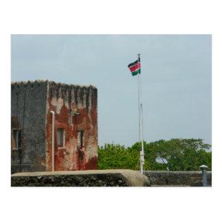 Fort Jesus 2 Mombasa, Kenya, East Africa Postcard
