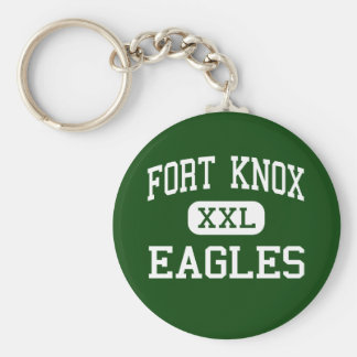 Fort Knox - Eagles - High - Fort Knox Kentucky Basic Round Button Keychain