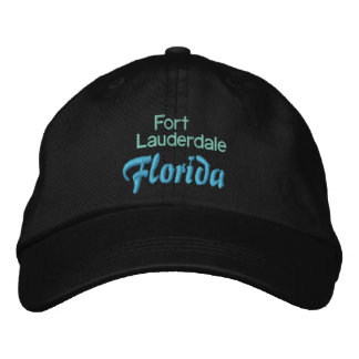 FORT LAUDERDALE 1 cap Embroidered Baseball Caps