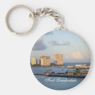 Fort Lauderdale Bay Keychain