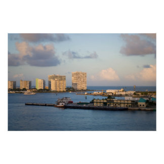 Fort Lauderdale Bay Poster