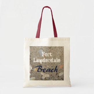 Fort Lauderdale Beach Sand, Shells, Coral Tote Bag