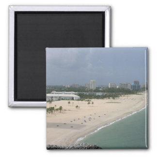 Fort Lauderdale Coastline Magnet